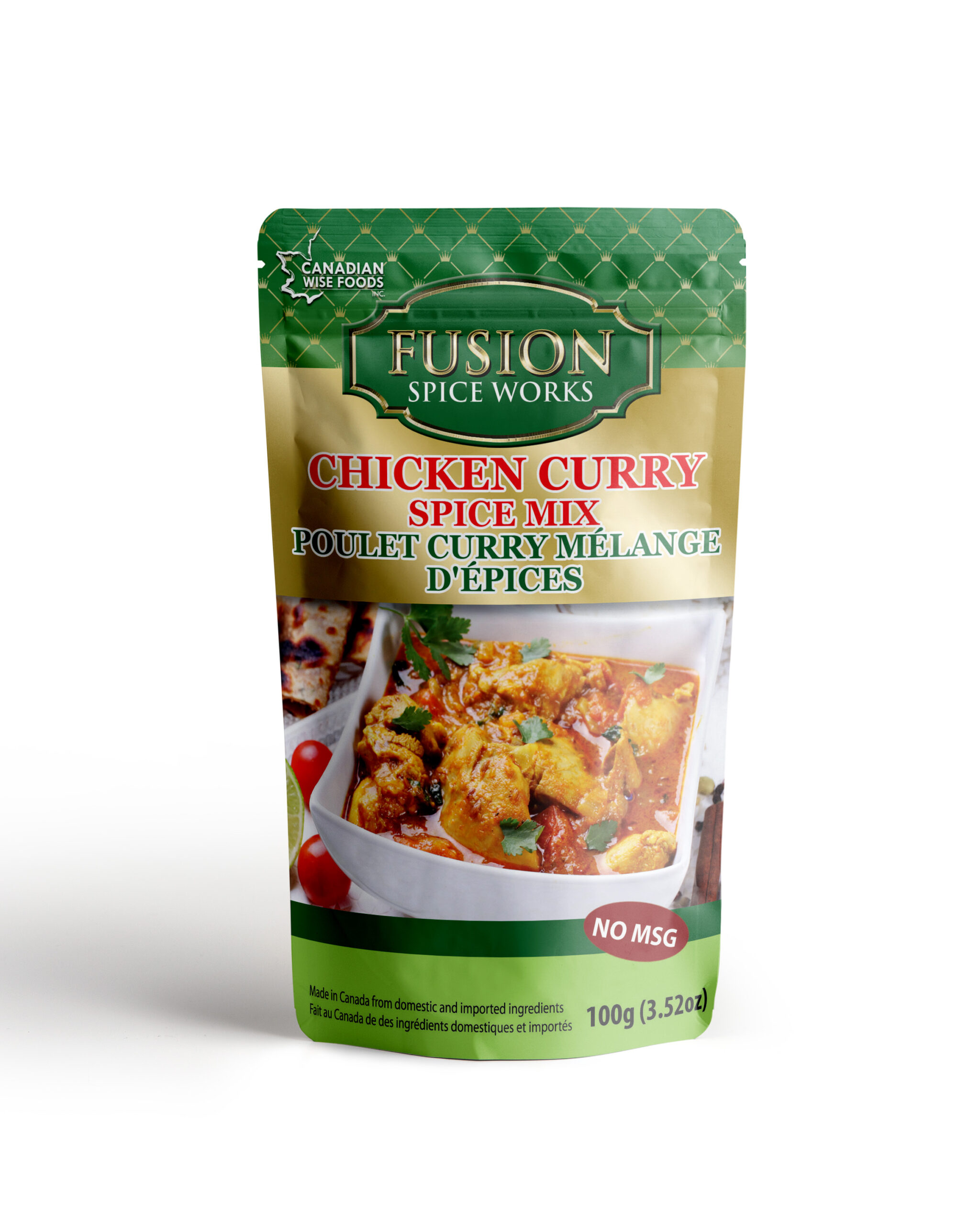 Chicken Curry Mockup